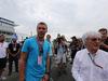 GP GERMANIA, 20.07.2014- Lukas Podolski (GER) Football Player e Bernie Ecclestone (GBR), President e CEO of Formula One Management