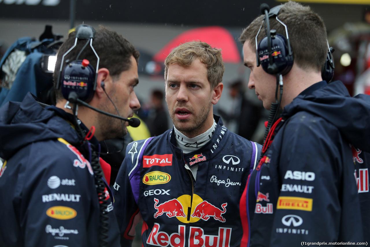 GP GIAPPONE, 05.10.2014 - Gara, Sebastian Vettel (GER) Red Bull Racing RB10