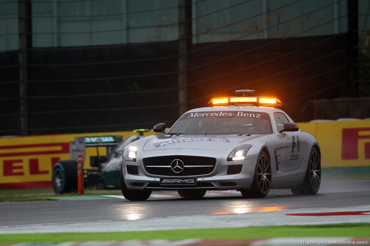 GP GIAPPONE, 05.10.2014 - Gara, The Safety car on the track