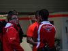 GP GIAPPONE, 05.10.2014 - Gara, Marussia F1 Team garage