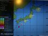 GP GIAPPONE, 05.10.2014 - Typhoon Map