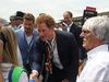 GP GRAN BRETAGNA, 06.07.2014 - Bernie Ecclestone (GBR), President e CEO of Formula One Management e Prince Henry of Wales