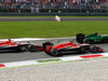 GP ITALIA, 07.09.2014 - Gara, Jules Bianchi (FRA) Marussia F1 Team MR03, Max Chilton (GBR), Marussia F1 Team MR03 e Kamui Kobayashi (JAP) Caterham F1 Team CT-04