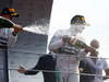 GP ITALIA, 07.09.2014 - Gara, secondo Nico Rosberg (GER) Mercedes AMG F1 W05 e Lewis Hamilton (GBR) Mercedes AMG F1 W05 vincitore