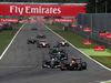 GP ITALIA, 07.09.2014 - Gara, Adrian Sutil (GER) Sauber F1 Team C33 e Pastor Maldonado (VEN) Lotus F1 Team E22