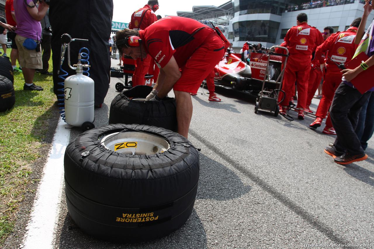GP MALESIA, 30.03.2014 - Gara, Pirelli Tyres e OZ Wheels