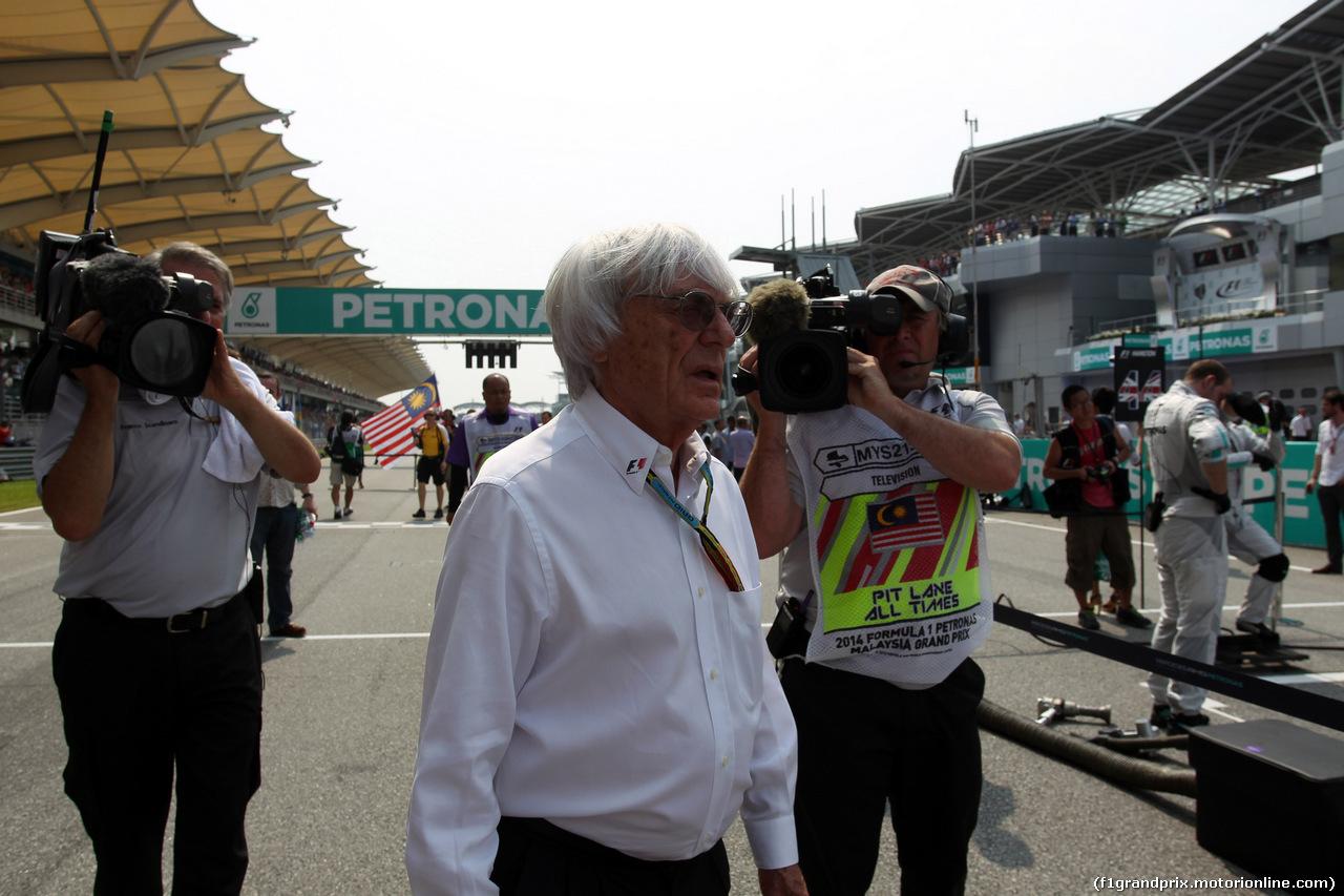 GP MALESIA, 30.03.2014 - Gara, Bernie Ecclestone (GBR), President e CEO of Formula One Management