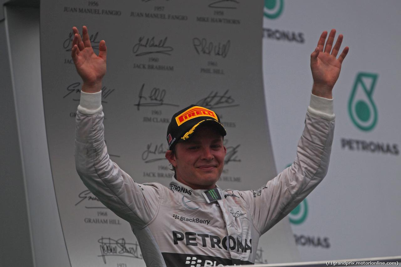 GP MALESIA, 30.03.2014 - Gara, secondo Nico Rosberg (GER) Mercedes AMG F1 W05