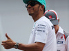GP MALESIA, 30.03.2014 - Lewis Hamilton (GBR) Mercedes AMG F1 W05 at drivers parade