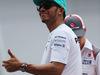 GP MALESIA, 30.03.2014 - Lewis Hamilton (GBR) Mercedes AMG F1 W05 at drivers parade