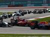 GP MALESIA, 30.03.2014 - Gara, Start of the race, Fernando Alonso (ESP) Ferrari F14-T e Kimi Raikkonen (FIN) Ferrari F14-T