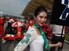 GP MALESIA, 30.03.2014 - Gara, Kimi Raikkonen (FIN) Ferrari F14-T e griglia Ragazza