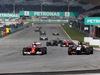 GP MALESIA, 30.03.2014 - Gara, Fernando Alonso (ESP) Ferrari F14-T e Nico Hulkenberg (GER) Sahara Force India F1 VJM07