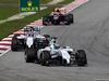 GP MALESIA, 30.03.2014 - Gara, Felipe Massa (BRA) Williams F1 Team FW36 davanti a Valtteri Bottas (FIN) Williams F1 Team FW36