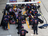 GP MALESIA, 30.03.2014 - Gara, Pit stop, Daniel Ricciardo (AUS) Red Bull Racing RB10
