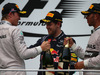GP MALESIA, 30.03.2014 - Gara, secondo Nico Rosberg (GER) Mercedes AMG F1 W05, terzo Sebastian Vettel (GER) Red Bull Racing RB10 e Lewis Hamilton (GBR) Mercedes AMG F1 W05 vincitore