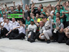 GP MALESIA, 30.03.2014 - Gara, Festeggiamenti, Lewis Hamilton (GBR) Mercedes AMG F1 W05 vincitore e secondo Nico Rosberg (GER) Mercedes AMG F1 W05