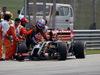 GP MALESIA, 28.03.2014- Free Practice 2, Romain Grosjean (FRA) Lotus F1 Team E22 stoppe on the circuit