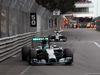 GP MONACO, 25.05.2014- Gara, Nico Rosberg (GER) Mercedes AMG F1 W05 davanti a Lewis Hamilton (GBR) Mercedes AMG F1 W05