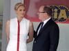 GP MONACO, 25.05.2014- Gara, Princess Charlene of Monacoand S.A.S. Prince Albert II