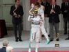 GP MONACO, 25.05.2014- Gara, secondo Lewis Hamilton (GBR) Mercedes AMG F1 W05 e Nico Rosberg (GER) Mercedes AMG F1 W05 vincitore