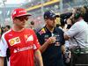 GP SINGAPORE, 21.09.2014 - Kimi Raikkonen (FIN) Ferrari F14-T e Sebastian Vettel (GER) Red Bull Racing RB10