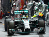 GP SINGAPORE, 21.09.2014 - Gara, Pit stop, Lewis Hamilton (GBR) Mercedes AMG F1 W05