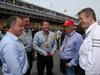 GP SPAGNA, 11.05.2014- Paul Hembery, Pirelli Motorspor Director e Nikki Lauda (AU), Mercedes e Alberto Pirelli (ITA) Pirelli Deputy Chairman