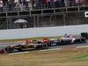 GP SPAGNA, 11.05.2014-  Gara, Pastor Maldonado (VEN) Lotus F1 Team E22 e Esteban Gutierrez (MEX), Sauber F1 Team C33