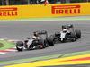 GP SPAGNA, 11.05.2014-  Gara, Esteban Gutierrez (MEX), Sauber F1 Team C33 e Kevin Magnussen (DEN) McLaren Mercedes MP4-29