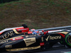 GP UNGHERIA, 27.07.2014- Gara, Romain Grosjean (FRA) Lotus F1 Team E22 e Jules Bianchi (FRA) Marussia F1 Team MR03