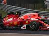 GP UNGHERIA, 27.07.2014- Gara, Kimi Raikkonen (FIN) Ferrari F14-T e Jules Bianchi (FRA) Marussia F1 Team MR03