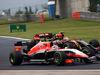 GP UNGHERIA, 27.07.2014- Gara, Max Chilton (GBR), Marussia F1 Team MR03 e Pastor Maldonado (VEN) Lotus F1 Team E22