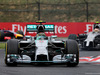 GP UNGHERIA, 27.07.2014- Gara, Nico Rosberg (GER) Mercedes AMG F1 W05 davanti a Lewis Hamilton (GBR) Mercedes AMG F1 W05