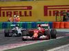 GP UNGHERIA, 27.07.2014- Gara, Fernando Alonso (ESP) Ferrari F14-T davanti a Lewis Hamilton (GBR) Mercedes AMG F1 W05