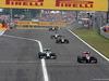 GP UNGHERIA, 27.07.2014- Gara, Jean-Eric Vergne (FRA) Scuderia Toro Rosso STR9 davanti a Nico Rosberg (GER) Mercedes AMG F1 W05