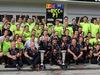 GP UNGHERIA, 27.07.2014- Gara, Festeggiamenti, Daniel Ricciardo (AUS) Red Bull Racing RB10 vincitore
