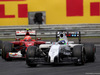 GP UNGHERIA, 27.07.2014- Gara, Felipe Massa (BRA) Williams F1 Team FW36 davanti a Kimi Raikkonen (FIN) Ferrari F14-T e Nico Rosberg (GER) Mercedes AMG F1 W05