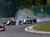 GP UNGHERIA, 27.07.2014- Gara, Daniel Ricciardo (AUS) Red Bull Racing RB10 overtakes Lewis Hamilton (GBR) Mercedes AMG F1 W05