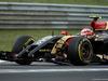 GP UNGHERIA, 27.07.2014- Gara, Pastor Maldonado (VEN) Lotus F1 Team E22, crashed