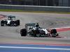 GP USA, 02.11.2014 - Gara, Nico Rosberg (GER) Mercedes AMG F1 W05 davanti a Lewis Hamilton (GBR) Mercedes AMG F1 W05