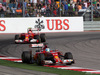 GP USA, 02.11.2014 - Gara, Fernando Alonso (ESP) Ferrari F14-T davanti a Kimi Raikkonen (FIN) Ferrari F14-T