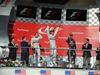 GP USA, 02.11.2014 - Gara, 1st position Lewis Hamilton (GBR) Mercedes AMG F1 W05, secondo Nico Rosberg (GER) Mercedes AMG F1 W05 e terzo Daniel Ricciardo (AUS) Red Bull Racing RB10