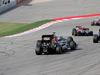 GP USA, 02.11.2014 - Gara, Nico Hulkenberg (GER) Sahara Force India F1 VJM07 e Esteban Gutierrez (MEX), Sauber F1 Team C33