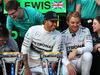 GP USA, 02.11.2014 - Gara, Festeggiamenti, Lewis Hamilton (GBR) Mercedes AMG F1 W05 vincitore e secondo Nico Rosberg (GER) Mercedes AMG F1 W05