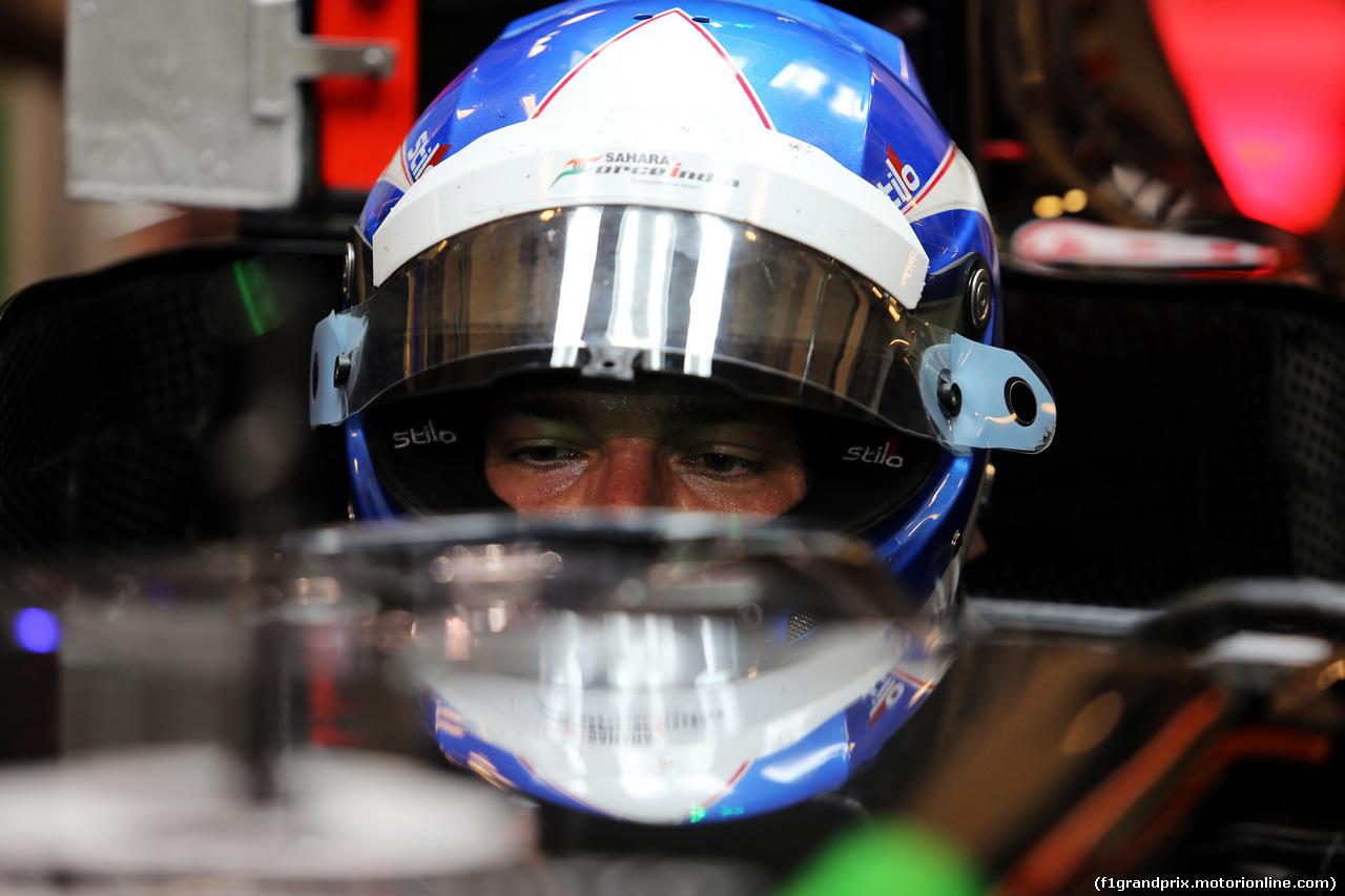 TEST F1 ABU DHABI 25 NOVEMBRE, Jolyon Palmer (GBR) Sahara Force India F1 VJM07 Test Driver. 25.11.2014.