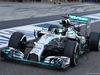 TEST F1 ABU DHABI 25 NOVEMBRE, Nico Rosberg (GER) Mercedes AMG F1 W05 running sensor equipment. 25.11.2014.