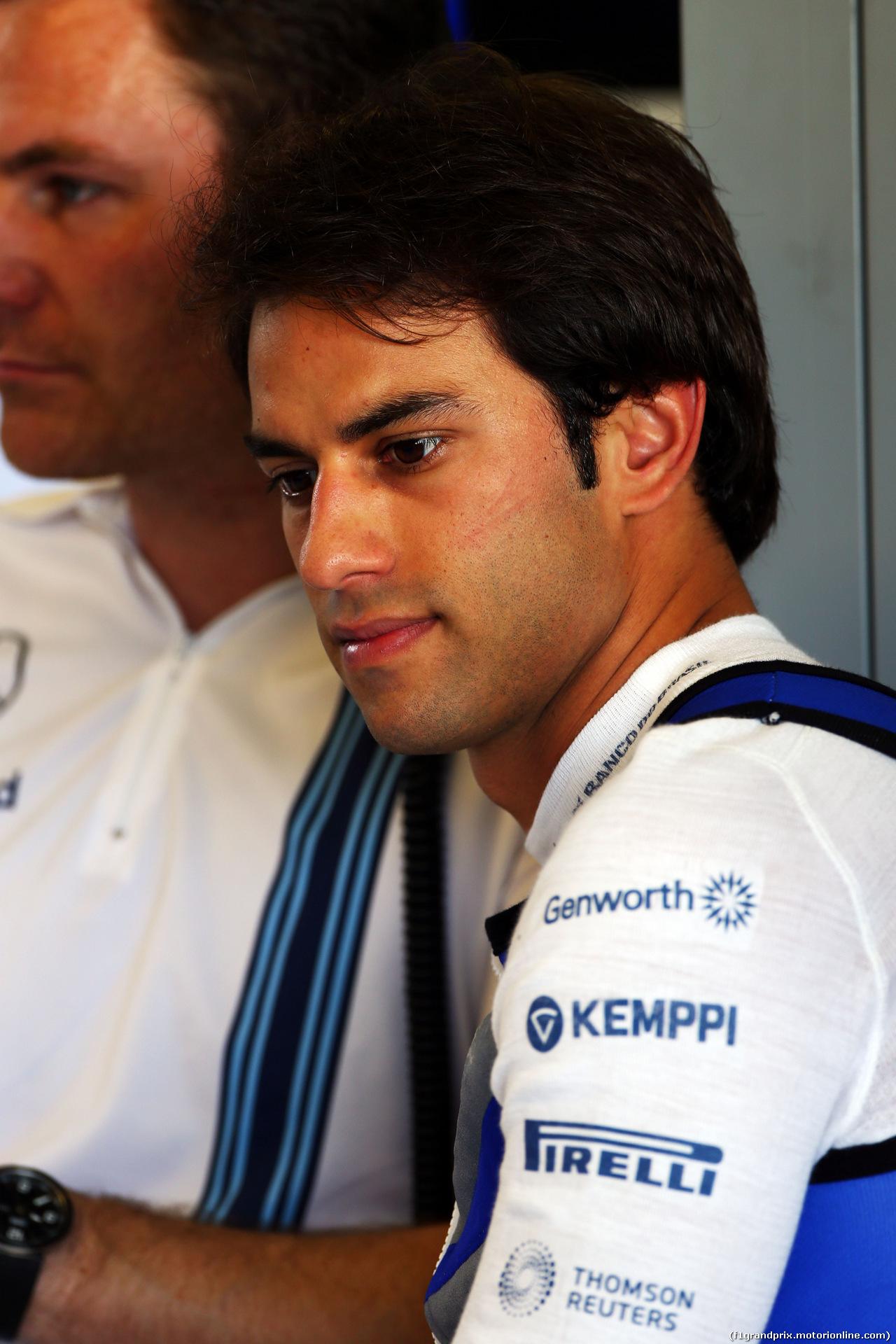 TEST F1 ABU DHABI 26 NOVEMBRE, Felipe Nasr (BRA) Williams Test e Reserve Driver. 26.11.2014.