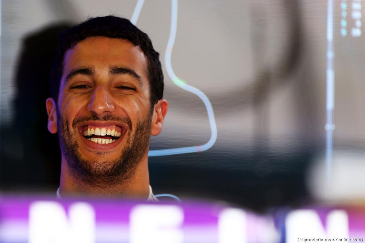 TEST F1 ABU DHABI 26 NOVEMBRE, Daniel Ricciardo (AUS) Red Bull Racing. 26.11.2014.