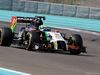 TEST F1 ABU DHABI 26 NOVEMBRE, Spike Goddard (AUS), Force India F1 Team testing the info wing 26.11.2014.